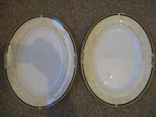 2 WEDGWOOD Cornucopia OVAL  DINNER PLATTER 36 CMS X 28 CMS