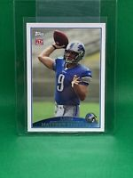 2009 Topps Matthew Stafford RC #430 Rookie Card