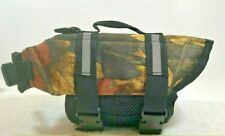 TESOON XS Dog Life Jacket Camo with Reflective Stripes-Adjustable Belt Dogs
