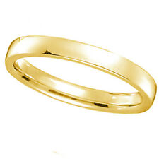 2mm Wedding Ring Band Low Dome Comfort Fit 14k Yellow