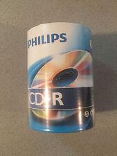120 PHILIPS 52X Logo CD-R CDR Blank Disc 80Min 700MB