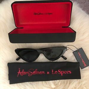 Le Specs Luxe Last Lolita x Adam Selman ** BRAND NEW W TAGS + CASE** Cat Eye