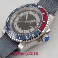 BLIGER 40mm ceramic Bezel Luminous Steril sapphire automatic movement mens Watch