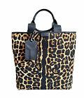 Yves Saint Laurent Tote Bag Leopard