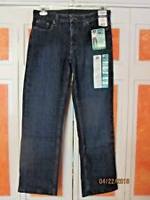 RIDERS STRAIGHT LEG MID RISE STRETCH JEANS-INSTANTLY SLIMS YOU- 10 P