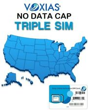 unlimited data sim card At&T network No throttle , No Data Cap