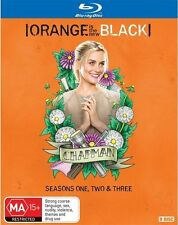 Orange Is The New Black - SEASON 1 2 3 : NEW Blu-Ray