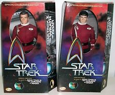 "Playmates Star Trek II - The Wrath of Khan Kirk & Spock 12"" figure set"