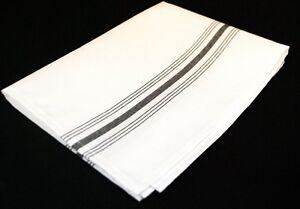 """1 Dozen Milliken Signature Bistro Stripe Napkins - 18"""" x 22"""" - 16 Color Choices"""