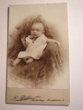 Seidenberg O/L - Erna Gerber als Baby - Portrait / CDV