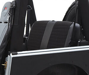 Smittybilt XRC Rear Seat Cover For 2007 Jeep Wrangler Unlimited 4 Door 758115
