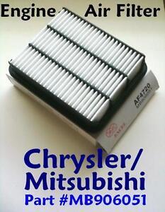 Mitsubishi Chrysler Mazda Dodge Eagle HIGH QUALITY AIR FILTER AF4720 (^o^)/