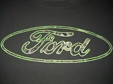 Ford Camo T-Shirt Medium - F-100,F-150,F-250,Ranger, Explorer - VERY NICE