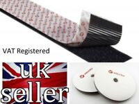 VELCRO PS51 PS521 Heavy Duty self adhesive tape 50mm wide x 50mm x 200mm length