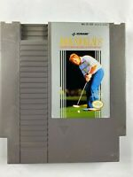 Jack Nicklaus' Greatest 18 Holes of Major Golf NES Nintendo Cartridge Only WORKS