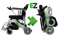 EZ Lite Cruiser Standard Model Light Folding Electric Wheelchair - 10 Ah Battery