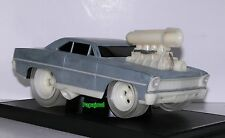 Muscle Machines Raw 1967 Chevrolet Nova 67 Chevy 2-Door Limited 1/504 1:18 Scale