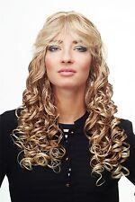 Perruque Pour Femme Blond Mix long Tire-bouchon-Boucles Pony DW89-27T613