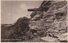 HASTINGS - LOVERS SEAT, FAIRLIGHT B&W  POSTCARD