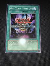 GET YOUR GAME ON! (NM) WCPS-EN700 WORLD CHAMPIONSHIP PROMO YUGIOH!