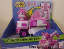 Super Wings ~ Deluxe Transforming Dizzy Vehicle