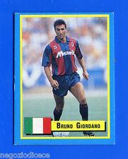 TOP MICRO CARDS - Vallardi 1989 - Figurina-Sticker - GIORDANO - BOLOGNA