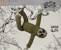 Sammi Sloth Knitty Critters Complete Crochet Kit 300g Soft Bernat Blanket Yarn