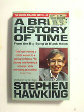A Brief History Of Time: From Big Bang To Black Holes by Stephen Hawking...