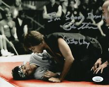 "Ron Thomas Autograph Signed 8x10 Photo - Karate Kid ""Bobby"" (JSA COA)"