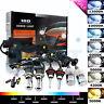 35W HID Xenon Conversion Kit H1 H3 H7 H8 H11 H13 9005/6 H4 9004 Hi-Lo Headlights