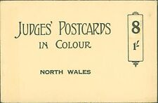 JUDGES ORIGINAL POSTCARDS SLEEVE ONLY FOR NORTH WALES POSTCARDS IN COLOUR