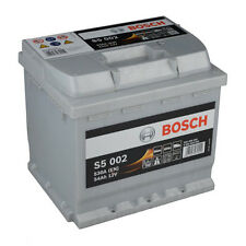 BOSCH S5 002 54Ah PREMIUM Autobatterie Starterbatterie Silver PLUS *NEU*