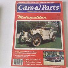 Cars & Parts Magazine 1911 Packard Model 30 Runabout November 1981 052917nonrh
