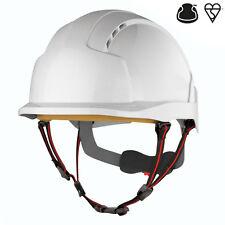 JSP EVOlite Skyworker white industrial climbing safety helmet hard hat