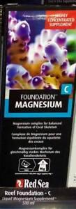 Red Sea Reef Foundation C 500ml Magnesium Marine Liquid Supplement Fast Delivery
