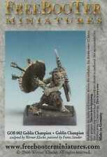 Freebooter's Fate: Goblin Champion - Tabletop - Freebooter Miniatures #GOB 002