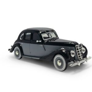 1:43 Vintage BMW 335 1939 Model Car Diecast Vehicle Toy Collection Black Gift