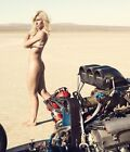 COURTNEY FORCE 8X10 PHOTO NHRA PICTURE AUTO RACING HOT ROD DRAG RACING FUNNY CAR