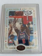 1996 Upper Deck USA Michael Jordan American Made #M1 Michael Jordan/Scoring