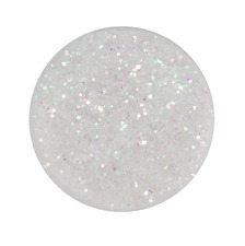 G4EBeauty Sparkling Fine Dust Face & Body Glitter, Holographic White
