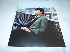 PAUL MAC CARTNEY- Mini poster couleurs 2 !!!!!!!!!!!!!!!