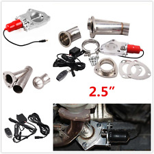 "2.5"" ELECTRIC EXHAUST CATBACK/DOWNPIPE CUTOUT/E-CUT OUT VALVE SYSTEM KIT+REMOTE"