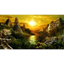 Hydor H2Show Lost Civilization Background with Application Gel, 80X40CM