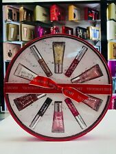 Victoria's Secret Beauty Rush 10 pc Flavored Lip Gloss Gift Set For Women * Nib