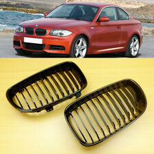 BMW 1 Series E81 E87 E82 E88 128i 135i Glossy Black Front Grille Performance
