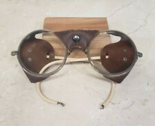 Vintage AO Co. 72 American Optical Round Safety Glasses Steampunk Style