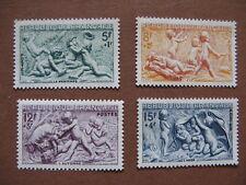 FRANCE neufs n° 859 à 862  LES SAISONS  (1949)