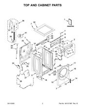 W11439664 Washer Ecu control - Image part# 24