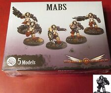 Space Crusade PIC301203 Mabs (5) Miniatures Female Chaos Warrior Infantry Marine