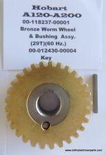 Hobart 00 124751 00003 A120 A200 Bronze Worm Wheel Amp Steel Bushing Key 12430 4